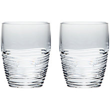 Buy Jasper Conran for Waterford Strata Tumblers, Set of 2 Online at johnlewis.com