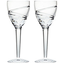 Buy Jasper Conran for Waterford Aura Wine Glasses, Set of 2 Online at johnlewis.com