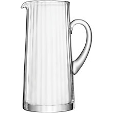 Buy LSA International Aurelia Tapered Glass Jug, 1.9L Online at johnlewis.com