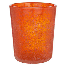 Buy By Handmade Glass Tumbler, Small Online at johnlewis.com