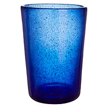 Buy By Handmade Glass Tumbler, Large Online at johnlewis.com