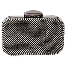 Buy Chesca Diamante Clutch Bag, Black Online at johnlewis.com