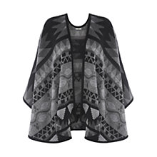 Buy Oasis Navajo Wrap, Black And White Online at johnlewis.com