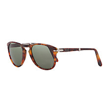 Buy Persol PO0714 Pilot Sunglasses, Caffe Online at johnlewis.com