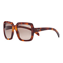 Buy Prada PR07RS Polarised Sunglasses, Havana Online at johnlewis.com