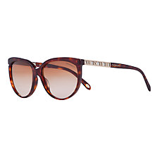Buy Tiffany & Co TF4097 Sunglasses, Havana Brown Online at johnlewis.com