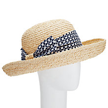 Buy John Lewis Straw Garden Hat, Natural Online at johnlewis.com