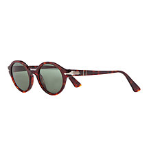 Buy Persol PO3098S Round Sunglasses, Havana Online at johnlewis.com
