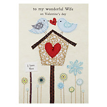 Buy Blue Eyed Sun Wife Picnic Time Valentine' s Greeting Card Online at johnlewis.com