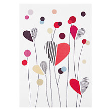 Buy Art Press Heart Meadow Valentine's Card Online at johnlewis.com