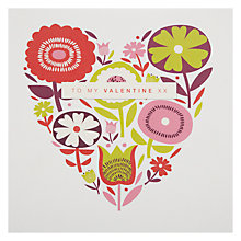 Buy Black Olive My Valentine Greeting Card Online at johnlewis.com