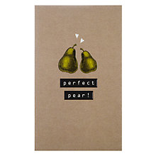 Buy Art File Perfect Pear Valentine's Card Online at johnlewis.com