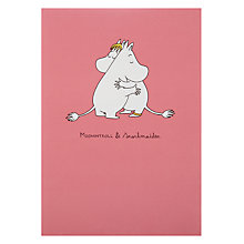 Buy Hype Wrapped Moomin Hugging Valentine's Card Online at johnlewis.com