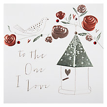 Buy Belly Button To The One I Love Valentine's Card Online at johnlewis.com