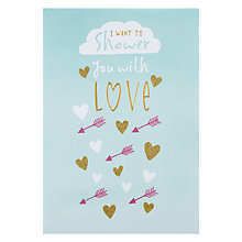 Buy Hotchpotch I Want To Shower You With Love Valentine's Card Online at johnlewis.com