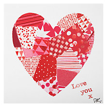 Buy Cardmix Large Heart Valentine's Card Online at johnlewis.com