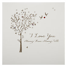 Buy Five Dollar Shake I Love You - Always Have Always Will Valentine's Card Online at johnlewis.com