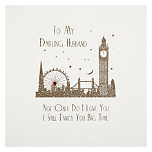 Buy Five Dollar Shake Husband - Still Fancy You Big Time! Valentine's Card Online at johnlewis.com