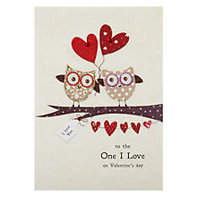 Buy Blue Eyed Sun One I Love Picnic Time Valentine's Greeting Card Online at johnlewis.com