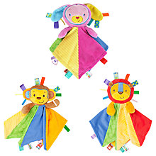 Buy Taggies Patchkin Baby Blankies Online at johnlewis.com
