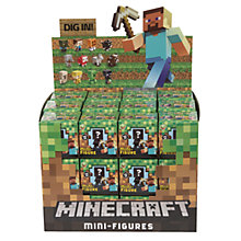 Buy Minecraft Mini-Figures Blind Bag, Assorted Online at johnlewis.com