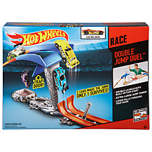 Buy Hot Wheels Double Jump Duel Online at johnlewis.com