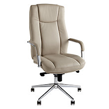 Buy John Lewis Tia Office Chair, Light Fawn Online at johnlewis.com