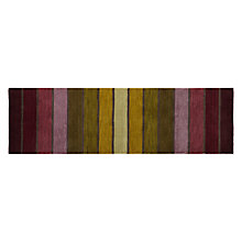 Buy John Lewis Dhalia Stripe Purple Runner, 240 x 70 Online at johnlewis.com