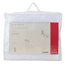 Buy John Lewis Supersoft Cotbed Duvet, 4 Tog Online at johnlewis.com