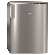Buy AEG S71700TSX0 Larder Fridge, A++ Energy Rating, 60cm Wide, Stainless Steel Online at johnlewis.com