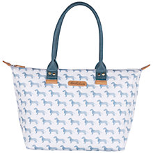 Buy Brakeburn Sausage Dog Shoulder Bag, Blue Online at johnlewis.com