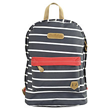 Buy Brakeburn Stripe Back Pack, Navy Online at johnlewis.com