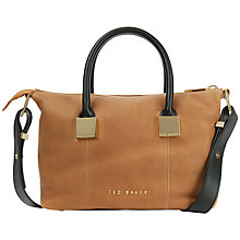 Buy Ted Baker Fauna Small Leather Square Tote Bag Online at johnlewis.com