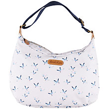Buy Brakeburn Ducks Hobo Bag, Grey Online at johnlewis.com