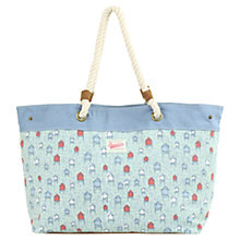 Buy Brakeburn Beach Hut Beach Bag, Green Online at johnlewis.com