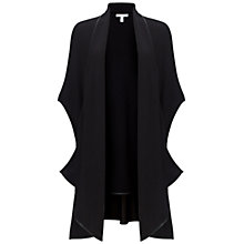 Buy Gina Bacconi Knitted Poncho Jacket, Black Online at johnlewis.com