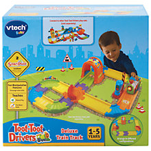 Buy VTech Baby Toot-Toot Drivers Deluxe Train Track Online at johnlewis.com