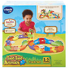 Buy VTech Baby Toot-Toot Animals Track Set Online at johnlewis.com