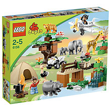 Buy LEGO DUPLO Photo Safari Online at johnlewis.com