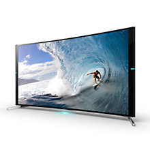 "Buy Sony Bravia KD-65S9005 Curved 4K Ultra HD Smart TV, 65"" with Freeview HD Online at johnlewis.com"