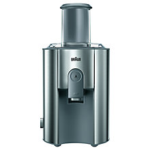 Buy Braun J700 Juicer, Silver Online at johnlewis.com