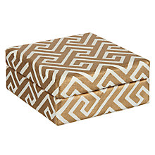 Buy Vivid Wrap Fretwork Mini Gift Box, Gold Online at johnlewis.com