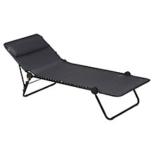 Buy Lafuma Sunside Sunlounger, Obsidian Online at johnlewis.com
