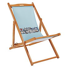 Buy John Lewis Nordic Harbour Deck Chair Sling Online at johnlewis.com