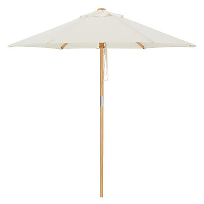 John Lewis Wooden Parasol, 275cm