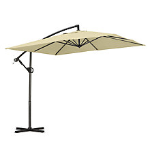 Buy John Lewis Freestanding Square Parasol, Dia.2.5m Online at johnlewis.com