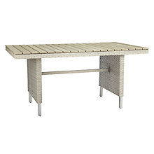 Buy John Lewis Madrid 6-8 Seater Outdoor Dining Table Online at johnlewis.com