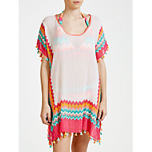 Buy Seafolly Soundwave Drummer Kaftan, Peppermint Online at johnlewis.com