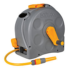 Buy Hozelock Compact Reel with Multi-Purpose Hose, 25m Online at johnlewis.com