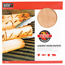 Buy Weber Cherry Wood Papers, 227g Online at johnlewis.com